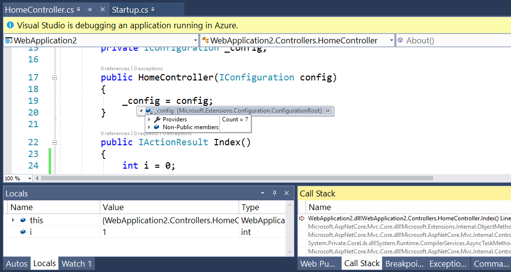 Getting Started with Snapshot Debugger